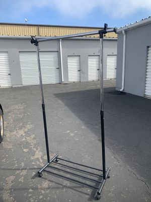 Adjustable clothes rack for Sale in Pismo Beach, CA