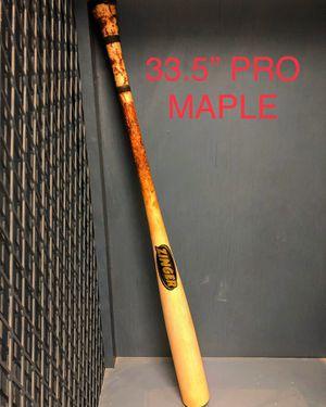 "33.5"" Professional Zinger Maple baseball bat for Sale in Yuma, AZ"