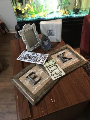 Framed under glass frames holding stand new photo album etc. all for $ 8 for Sale in Portland, OR