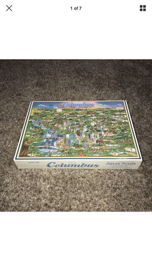 Buffalo Games City of Columbus Puzzle for Sale in Galloway, OH