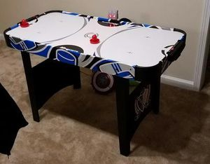 48 Inch Air Powered Hockey Air Hockey Table 48 Inch Powered Electronic Indoor Game Room Kids Funny Play with LED Electronic Scorer for Sale in Toms River, NJ