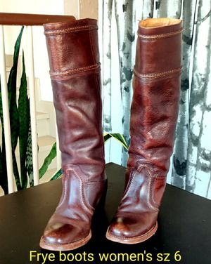 Frye women's leather boots for Sale in San Diego, CA