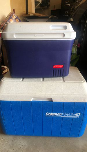 2 Coolers for Sale in Canton, MI