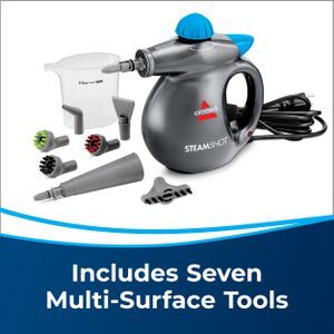 New BISSELL Steam Shot Floor Surface Steam Cleaner Steamer Sanitizer Handheld Cleaning supplies Clean and Sanitize with the Power of Steam for Sale in Ventura, CA