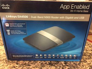 Linksys EA4500 WiFi Router for Sale in Port St. Lucie, FL