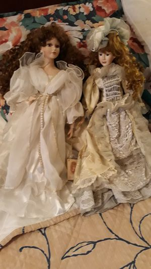 Two old antique dolls for Sale in S CHESTERFLD, VA