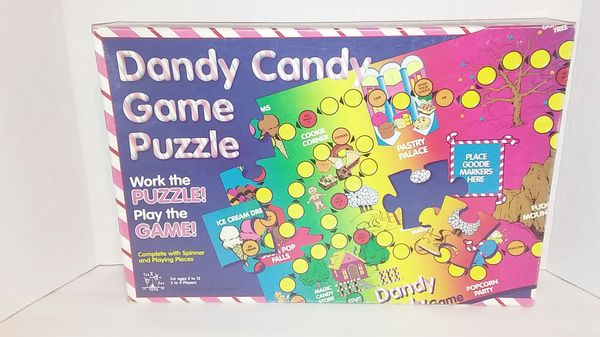 BN Dandy candy game puzzle