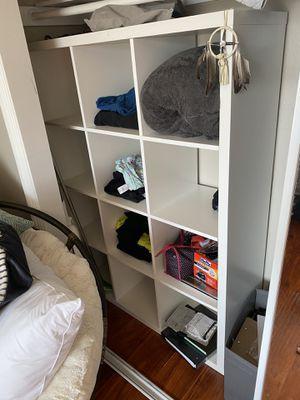 Shelving Unit- Kallax Ikea Unit for Sale in Irvine, CA