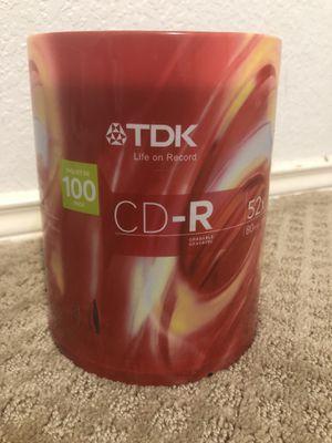100 pack CD-R's for Sale in Arlington, TX
