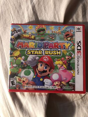 Mario party star rush Nintendo 3ds for Sale in Seattle, WA