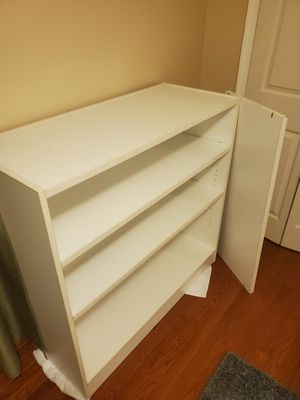 White Book Case Display Shelf for Sale in Suitland, MD
