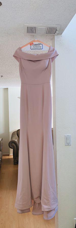 NICOLE BAKTI: blush dress, size 4. for Sale in Glendale, CA