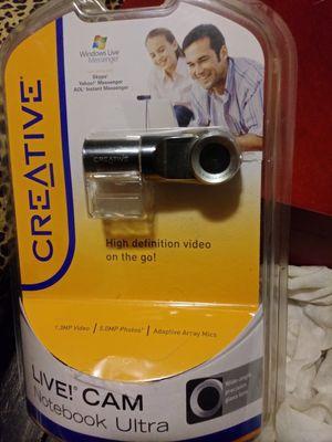 Creative Live!cam notebook ultra for Sale in Malden, MA