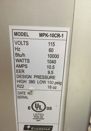 Used 10,000 btu portable ac unit for Sale in Germantown, MD