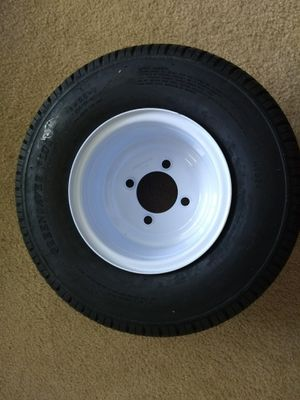 Brand New Golf cart wheel Greensaver Plus 18x8.50-8 LRB/4 Ply and 4 Lug for Sale in Bentonville, AR