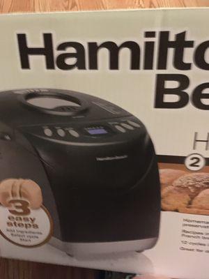 Hamilton Beach bread maker for Sale in Cary, NC