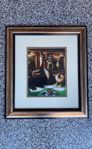 Dogs playing poker picture for Sale in Chula Vista, CA