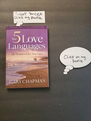 BOOK ORDER TO MANY- THE 5 LOVE LANGUAGES BY GARY CARY CHAPMAN for Sale in Newport News, VA