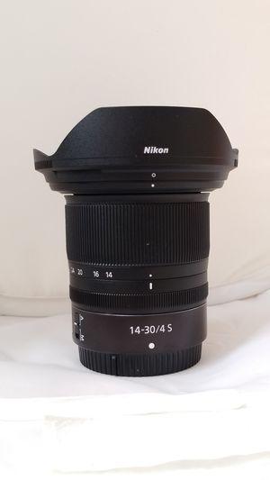 Nikon Z 14-30 mm f4 S Lens for Sale in Claremont, CA