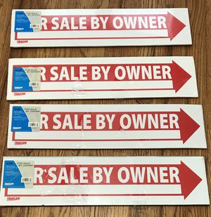 4 New For Sale By Owner Signs for Sale in Colorado Springs, CO
