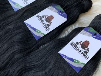 "(3) 20"" 100% Raw Indian Human Hair for Sale in Atlanta,  GA"