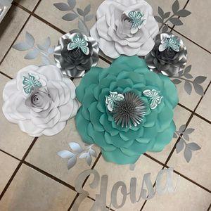 Paper flowers for Sale in Arlington, TX