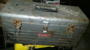 Old metal Craftsman tool box for Sale in Lake Grove, OR