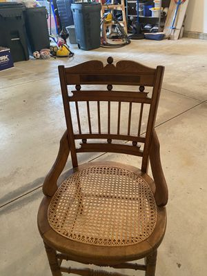Antique Wooden Chair for Sale in North Royalton, OH