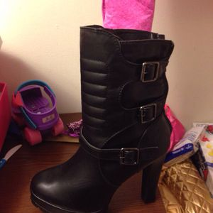Black rider boots for Sale in Baltimore, MD