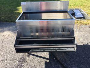 Glastender Stainless Steel Ice Bin w Dual Speedwell for Sale in Wellsville, PA