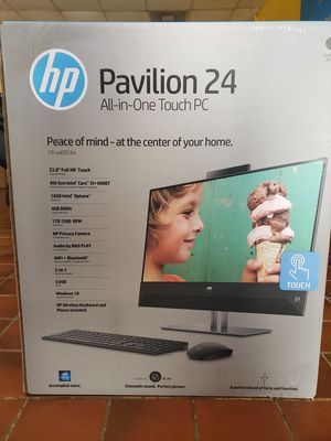 Hp Pavilion 24 All In One Touch. 24-xa0053 for Sale in Montgomery, AL