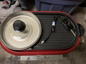 Portable stove and pot with glass lid for Sale in El Mirage, AZ