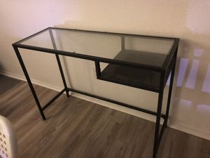 Ikea Vittsjo laptop table for Sale in Alexandria, VA