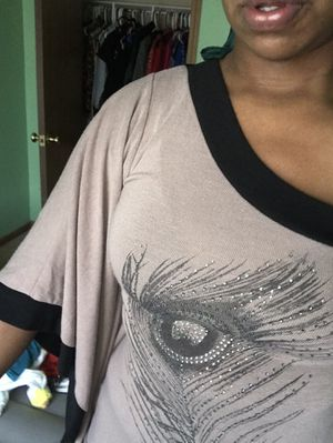 Beautiful shirt with rhinestones for Sale in Columbus, OH