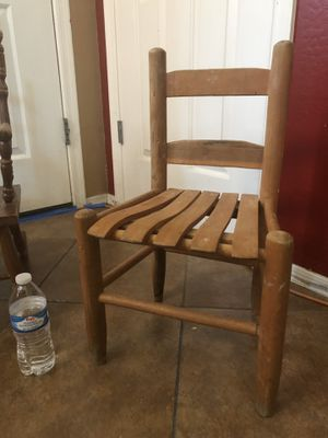 Kids antique chair and rocking chair for Sale in Phoenix, AZ