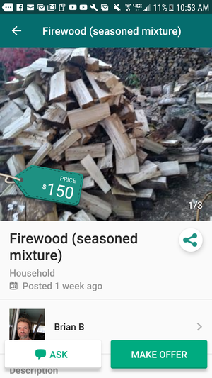 Firewood for Sale in Portland, OR