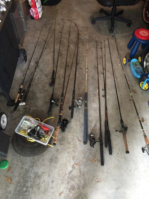 Fishing rods for Sale in Gotha, FL