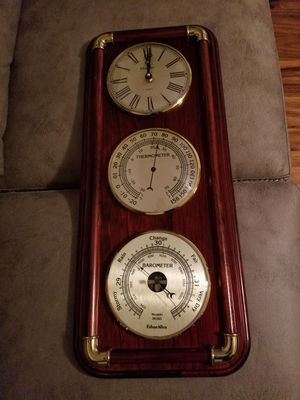 Ethan Allen Weather clock for Sale in Richmond, VA