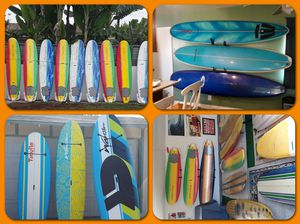 Many high quality and low cost paddle boards and surfboards for Sale in Huntington Beach, CA