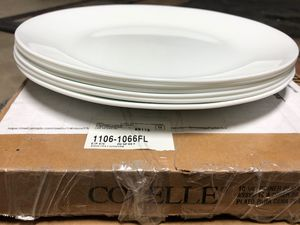 3 Boxes of White Corelle Dinner Plates for Sale in Surprise, AZ