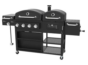 Smoke Hollow 4-in-1 LP Gas Charcoal Smoker Searing BBQ Grill Model PS9900 for Sale in Silver Spring, MD