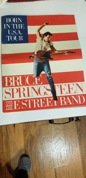 Bruce Springsteen Born in USA tour Mag. for Sale in Bothell, WA