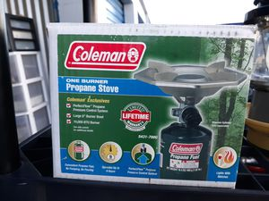 Coleman 1 burner camp stove. for Sale in Lancaster, CA