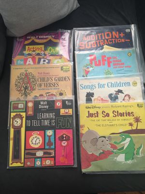 Vintage Disney Records albums Walt Disney for Sale in New York, NY