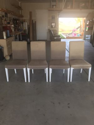 Dining Room Chairs (set of four) for Sale in Clovis, CA