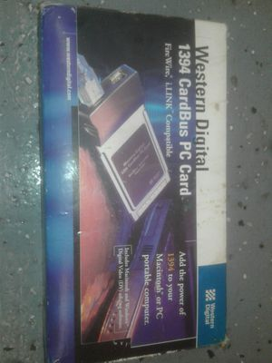 1394 cardbus pc card brand new for Sale in Bridgeport, CT
