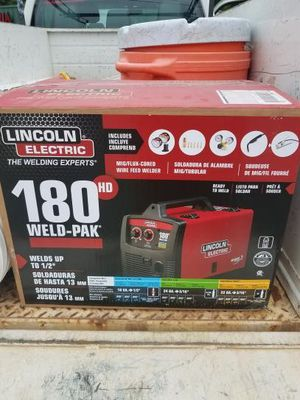 LINCOLN 180 welder. BRAND NEW SEALED IN BOX. for Sale in Henderson, NV
