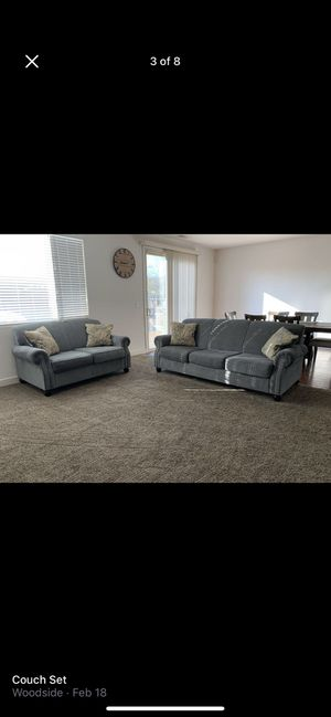 Couch and love seat for Sale in Visalia, CA