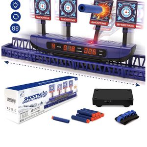 Moving Targets for Nerf Guns - Auto Reset Electronic Scoring Shooting Digital Targets, 4 modes Shooting Games Sniper Toys for Boys - Ideal Toys Gift f for Sale in Diamond Bar, CA