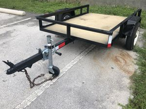 Utility trailer 4x6 with lift jack for Sale in Hialeah, FL